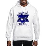 proud jewish zionist Hooded Sweatshirt