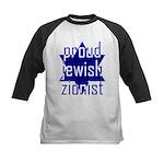 proud jewish zionist Kids Baseball Jersey