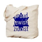 proud jewish zionist Tote Bag