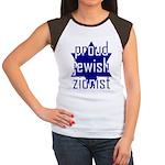 proud jewish zionist Women's Cap Sleeve T-Shirt