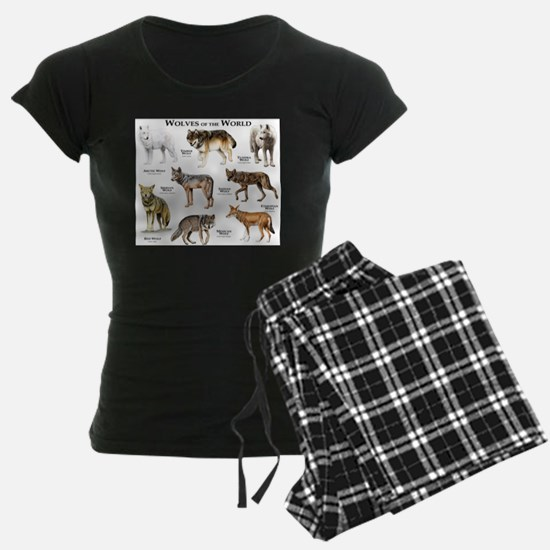 Wolves of the World Pajamas