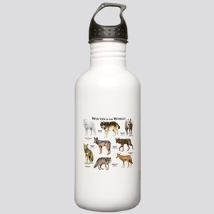 Wolves of the World Stainless Water Bottle 1.0L