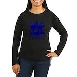 proud jewish zionist Women's Long Sleeve Dark T-Sh