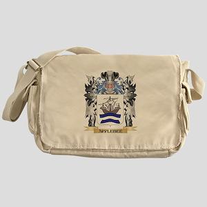 Applebee Coat of Arms - Family Crest Messenger Bag
