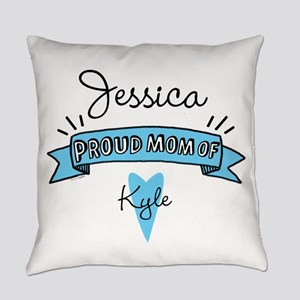 Proud Mom Of Son Everyday Pillow