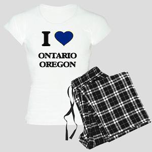 I love Ontario Oregon Women's Light Pajamas