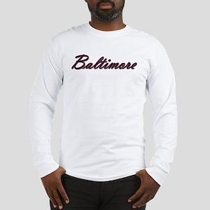 Warzone Baltimore Long Sleeve T-Shirt