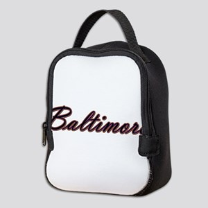 Warzone Baltimore Neoprene Lunch Bag