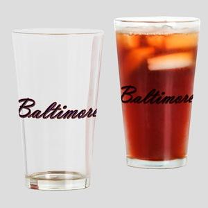 Warzone Baltimore Drinking Glass