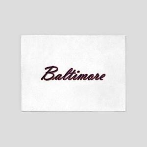 Warzone Baltimore 5'x7'Area Rug