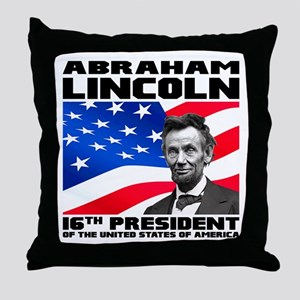 16 Lincoln Throw Pillow