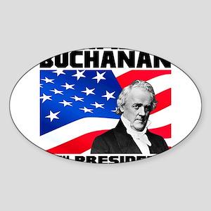 15 Buchanan Sticker (Oval)
