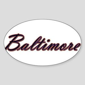Warzone Baltimore Sticker