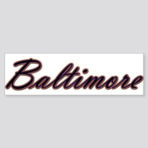 Warzone Baltimore Bumper Sticker