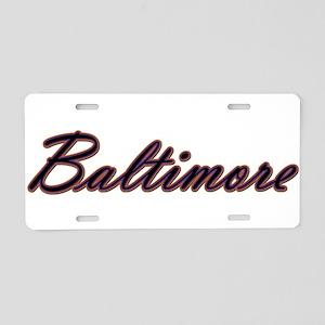 Warzone Baltimore Aluminum License Plate