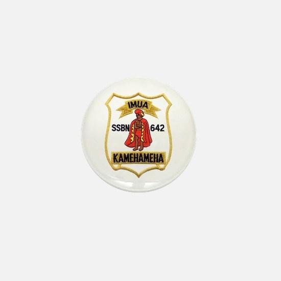 USS KAMEHAMEHA Mini Button