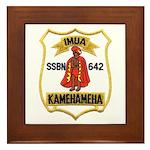 USS KAMEHAMEHA Framed Tile