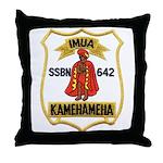 USS KAMEHAMEHA Throw Pillow