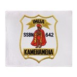USS KAMEHAMEHA Throw Blanket