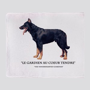 Tenderhearted Guardian Throw Blanket