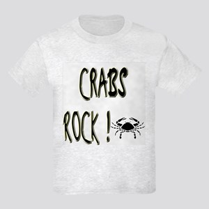 Crabs Rock ! Kids Light T-Shirt