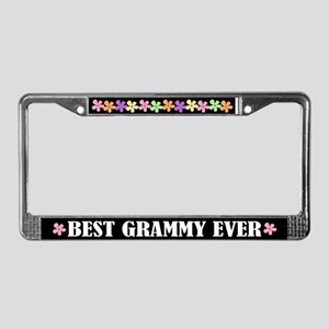 Best Grammy Ever License Plate Frame