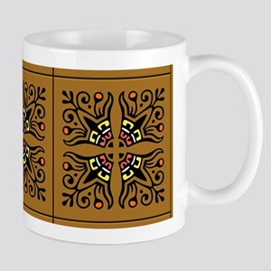 Folk Art Tiles Mug