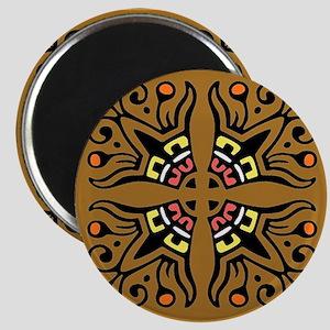 Folk Art Tiles Magnet