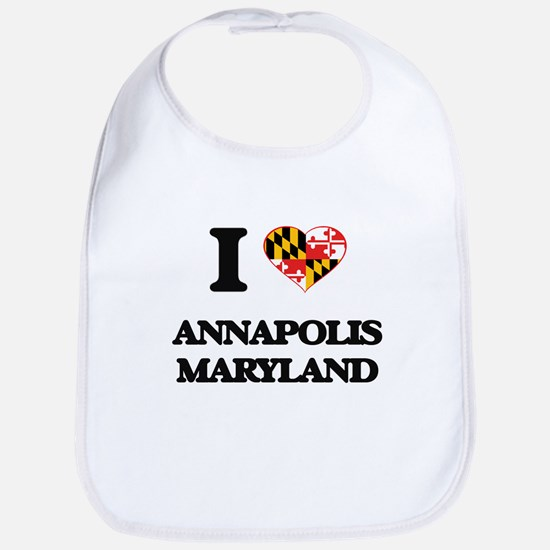 I love Annapolis Maryland Bib