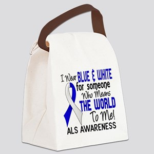 ALS MeansWorldToMe2 Canvas Lunch Bag