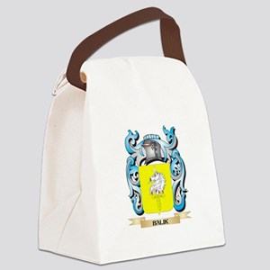 Balik Coat of Arms - Family Crest Canvas Lunch Bag