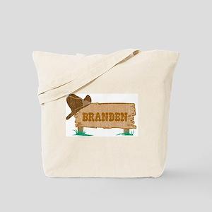 Branden western Tote Bag