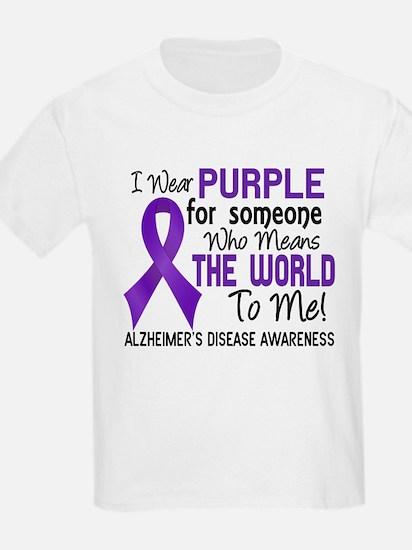 Alzheimer's MeansWorldToMe2 T-Shirt