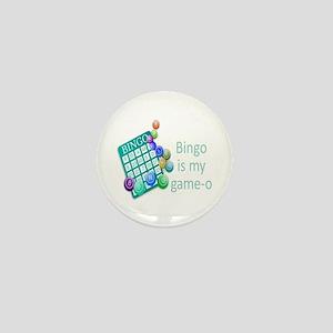 Bingo is my Game-o Funny Quote Mini Button