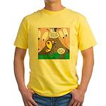 Alpine Butterfly Yellow T-Shirt