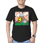Alpine Butterfly Men's Fitted T-Shirt (dark)