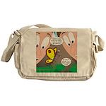 Alpine Butterfly Messenger Bag