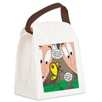 Alpine Butterfly Canvas Lunch Bag