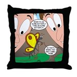 Alpine Butterfly Throw Pillow