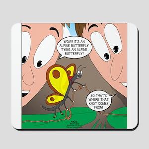 Alpine Butterfly Mousepad