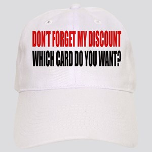 DISCOUNT CARD Baseball Cap