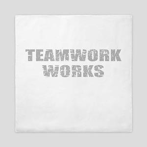 motivational teamwork Queen Duvet