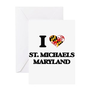 St michael greeting cards cafepress m4hsunfo
