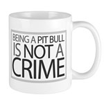 Pit Bull Not Crime Mug