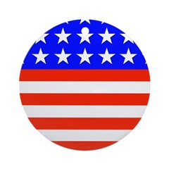 Stars and Stripes Christmas Ornament (Round)