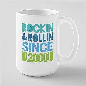 2000 Birthday Large Mug
