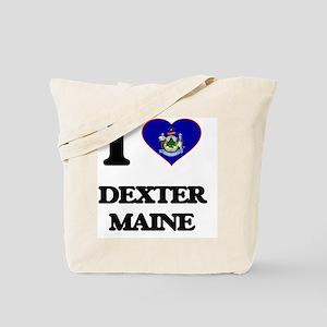 I love Dexter Maine Tote Bag