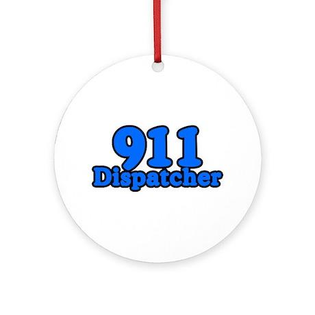 911 Dispatcher Ornament (Round)