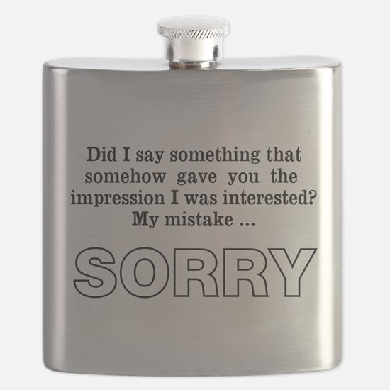 Sorry Flask