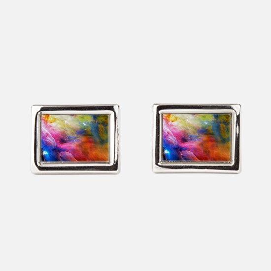 Hubble 1 Orion Nebula M42 Rectangular Cufflinks